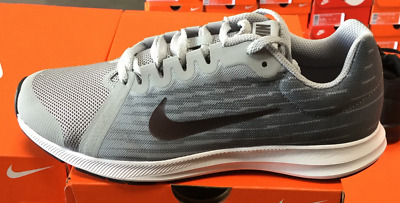 63382f5b14faf NIKE Downshifter 8 (GS) Kid s Running Shoes Grey Dark Grey 922853 002 Sz4