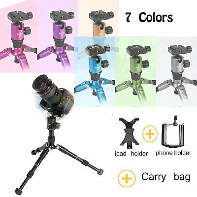 Professional Camera Tripod Stand Holder Mount for iPhone Samsung Cell Phone hold