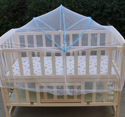 Summer White Baby Cradle Bed Canopy Mosquito Net Toddlers Crib Cot Netting Safe#