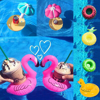 Swan Inflatable Cup Phone Holder Drink Floating Party Pool Bath Beach Toy
