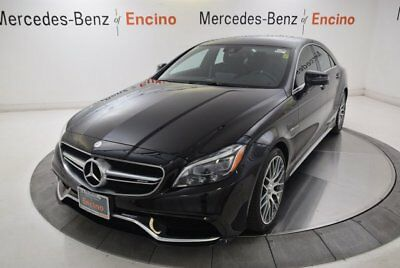 CLS-Class AMG CLS 63 S 4-Door Coupe 2016 Mercedes-Benz CLS63 AMG, Certified, Low Miles, 1 Owner, Beautiful!