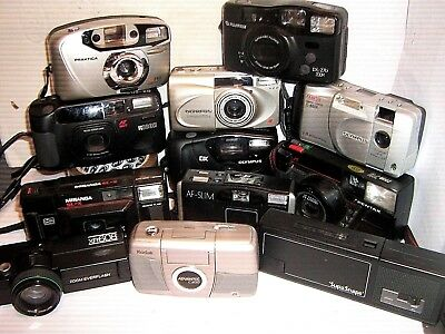 POCKET CAMERAS 35 mm FILM - 1970 to 2000  ~ click - SELECT - to browse or order