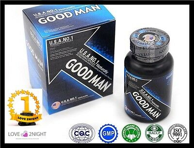 GOOD MAN  / USA NO 1 / Male Enhancement Sex Pills / 60 Tablets / LOVE 2NIGHT