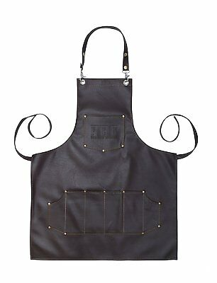 Professional Leather Hairstylist Cutting Hairdressing Barber Apron Cape Salon