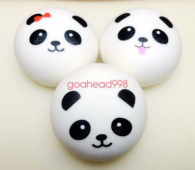 NEW 10cm Jumbo Squishy Cute Panda Charms Buns Cell Phone Charm Pendant Bag Strap
