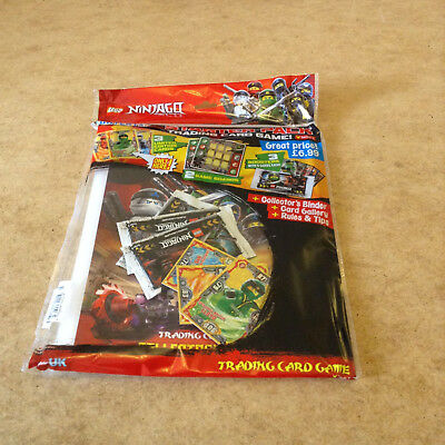 Lego Ninjago Series 3 Trading Card Starter Pack Limited Edition Cards Boosters