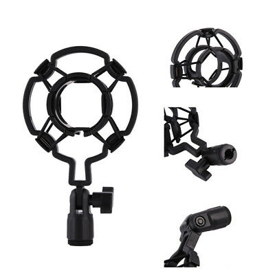 Universal Mic Holder Clip Clamp Stand Microphone Anti-Shock Mount Cradle ws1