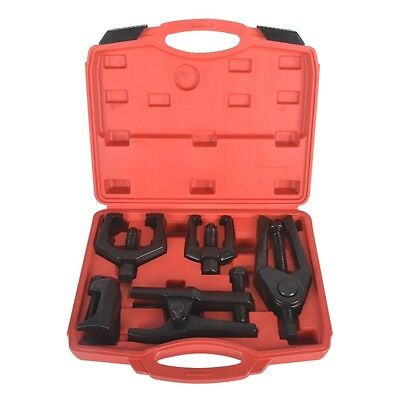 6 Full Set Front End Service Ball Joint Separator Pitman Arm Tie Rod Puller Tool
