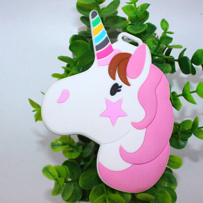 Pop Ideas Unicorn Horse Luggage Tag Silicone Green PVC Soft Plastic Fashion