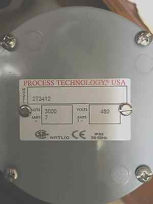 Process Technology: 2T3412 3000 Watt Screw Plug Heater