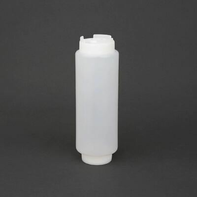 Vogue Sauce Rotation Squeeze Bottle Polypropylene Capacity - 570ml