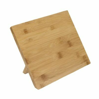 Vogue Wooden Magnetic Knife Stand 245mm | Kitchen Storage