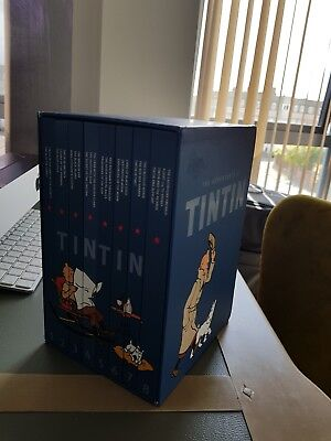 Deluxe Special edition Tintin Complet Collection. 8 books. RRP 120£