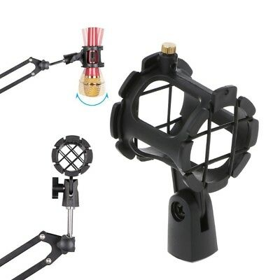 Handheld NB04 Bearable Condenser Microphone Shock Mount Clip Mic Holder Stand