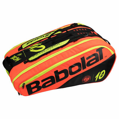 BABOLAT Racket Holder X12 Tennis Roland Garros LTD La Decima  -NEU-