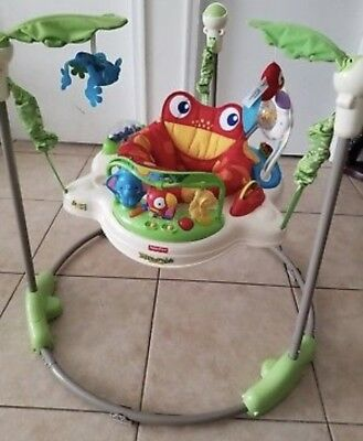 Fisher Price Rainforest Jumperoo Baby Jumper Bouncer K7198