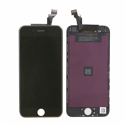 LOT OF 3 LCD DISPLAY SCREEN REPLACEMENT DIGITIZER ASSEMBLY FIT BLACK iPHONE 6