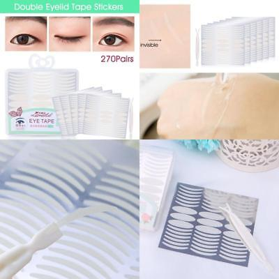 Natural Invisible Fiber Double Eyelid Tape Stickers - Instant Eye Lift Without -
