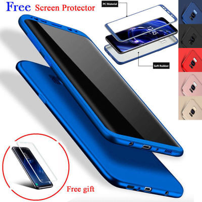 Hybrid 360° Full Slim Hard shockproof Case Cover For Samsung Galaxy S9 Plus New