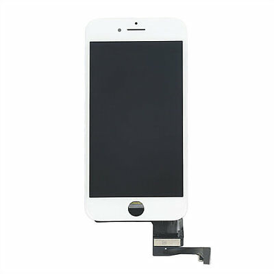 LOT OF 3 LCD DISPLAY SCREEN REPLACEMENT DIGITIZER ASSEMBLY FIT WHITE iPHONE 8
