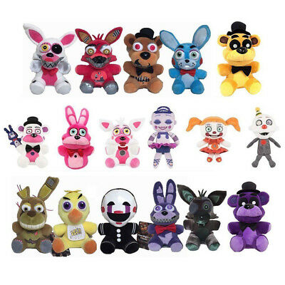 Five Nights at Freddy's FNAF Horror Game Plush Doll Kids Plushie Keychain Toy US