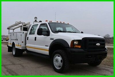 2006 Ford F-550 4X4 Service /Utility Fleet Maintained Stock#15718