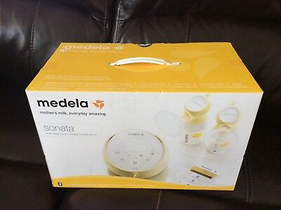 Medela Sonata Smart Breast Pump * Portable Double Electric * New in Sealed Box