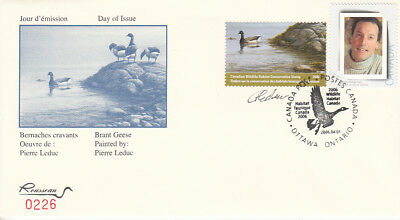 Canada  Conservation 2006    FWH22s     SIGNED    FDC Valued $ 100.oo