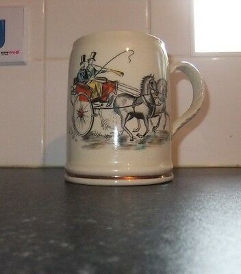 Vintage Grays Pottery Tankard/Mug. c.1950. Excellent Condition.