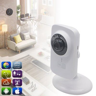 720P Wireless Camera CCTV Indoor Baby Night Vision System Monitor Home Security