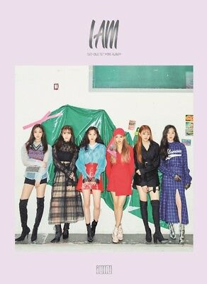 K-POP G I-DLE 1st Mini Album [I am] CD+68p/32p Photobook+2p Photocard+2p Sticker