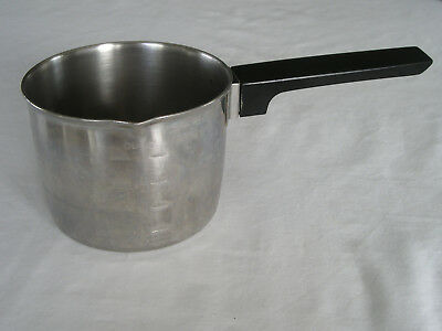 Vintage Foley 2 Cup Measuring Cup Butter/Sauce Pan-Stainless Steel Nice