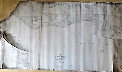Card Coast Of Africa No. 72 Published By James Imray And Sound 1882 B1785