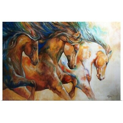 """Poster Print /""""Western Ranch Animals I/"""""""