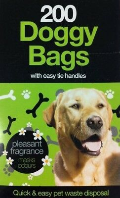 Doggy Poo Bags Extra Strong scented bags Pet Pooper Scooper Bag Dog Cat Poo Bags