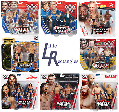 WWE Battle Pack Figures - Mattel - Brand New - Sealed - SHIPPING COMBINES