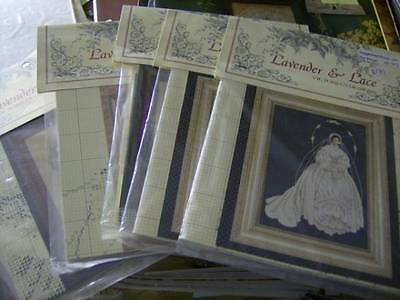 Lavender & Lace Cross Stitch Chart Your Choice
