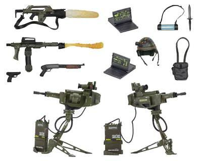 USCM Arsenal Weapons Zubehör-Set, Aliens Actionfigur NECA, Alien Accessory Pack