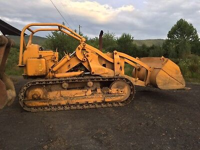 caterpillar 977 crawler loader track loader