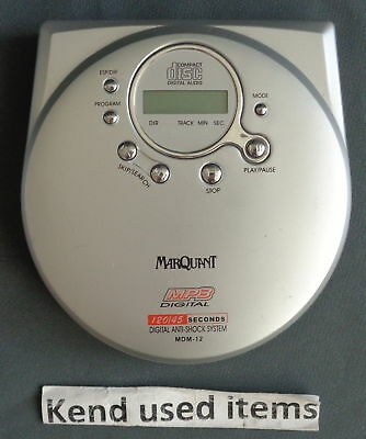 MARQUANT MDM-12 WALKMAN DISCMAN draagbare CD MP3 speler portable player Spieler
