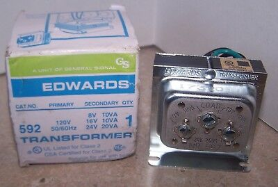 Class 2 Transformer, 10VA, 120VAC, 16VAC EDWARDS SIGNALING
