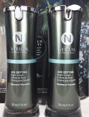 2x Nerium AD Age Defying Night Cream Creams Combo Pack Complete Kit Sealed