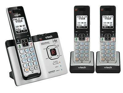 VTech 15750 DECT6.0 Cordless Phone with Bluetooth MobileConnect - 3 handset pack