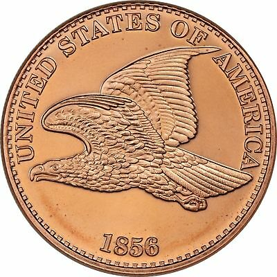 1 oz Copper Round - Flying Eagle
