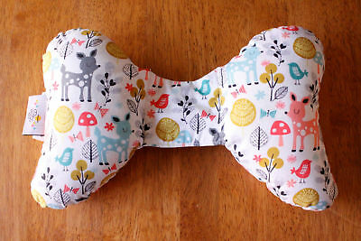 ELEPHANT EARS Baby Support Pillow Infant Newborn Neck Support Woodland Animals