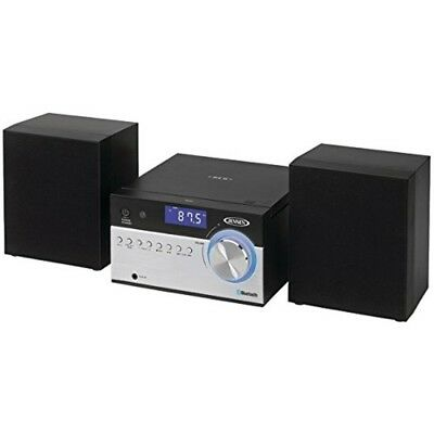 NEW Jensen Bluetooth CD Micro Stereo Shelf System w/Digital AM/FM Radio Receiver