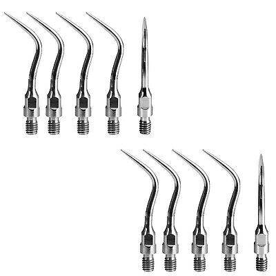 10 pcs dental scaling tip fit Sirona handpiece Siroson Sirosonic scaler tips PS4