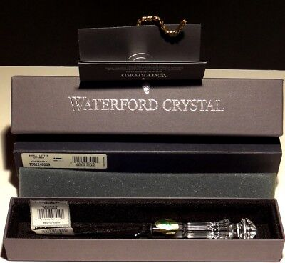 "BRAND NEW Waterford Crystal Letter Opener 8 1/4"" IN THE BOX ~ MADE IN IRELAND"