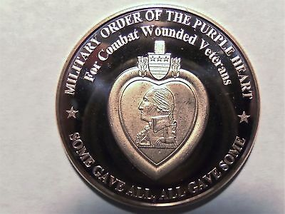 1 oz Copper Round - Purple Heart