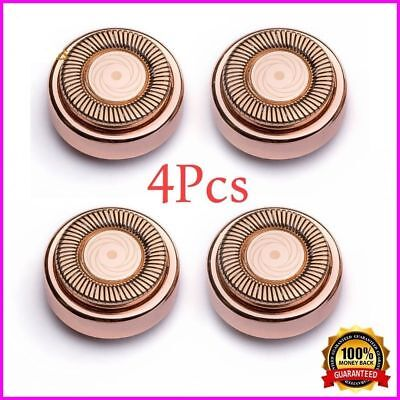 4pcs Finishing Touch Flawless Hair Remover Hypoallergenic Replacement Heads